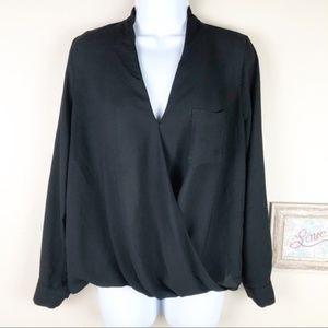 TopShop Sheer Long Sleeve Blouse Top 6